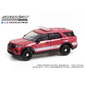 "FORD POLICE INTERCEPTOR UTILITY 2020 ""DETROIT FIRE DEPARTMENT"""