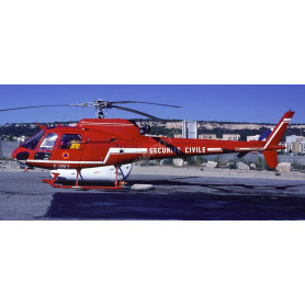 AEROSPATIALE AS 350 ECUREUIL SECURITE CIVILE ROUGE