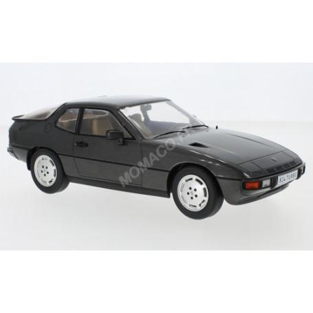 PORSCHE 924 TURBO 1979 GRIS FONCE