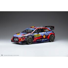 HYUNDAI I20 COUPE WRC 6 SORDO/DEL BARIO RALLYE CATALOGNE 2019