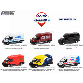 """COFFRET 6 """"ROUTE RUNNERS"""" - SERIES 3"""