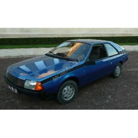 RENAULT FUEGO GTS 1980 BLEUE