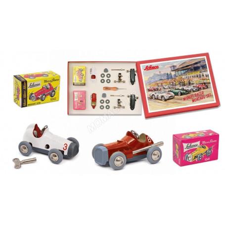 """MIDGET RACER 1041 & 1042  (KIT MONTAGE ET CONSTRUCTION """"MICRO RACER"""") (EPUISE)"""