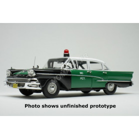 "FORD CUSTOM 300 1958 ""NYPD - NEW YORK POLICE DEPARTMENT"""