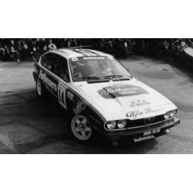 ALFA ROMEO GTV6 14 LOUBET/ANDRIE TOUR DE CORSE 1986 (EPUISE)