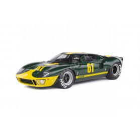 "FORD GT40 MK1 61 ""GREEN RACING CUSTOM - JIM CLICK FORD PERFORMANCE COLLECTION"" 1966"