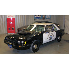 "FORD MUSTANG SSP 1982 ""CALIFORNIA HIGHWAY PATROL"""