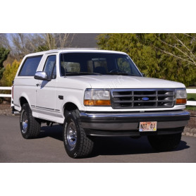 FORD BRONCO XLT 1993 BLANCHE
