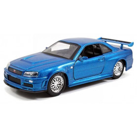 """NISSAN SKYLINE GT-R 2002 """"FAST AND FURIOUS 4 (2009) - BRIAN"""""""