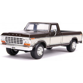 FORD F-150 PICK-UP STOCK 1979 MARRON