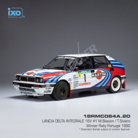LANCIA DELTA INTEGRALE 16V 1 BIASON/SIVIERO RALLYE PORTUGAL 1990