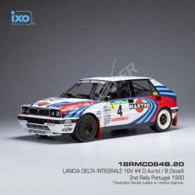 LANCIA DELTA INTEGRALE 16V 4 AURIOL/OCCELLI RALLYE PORTUGAL 1990