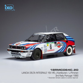 LANCIA DELTA INTEGRALE 16V 6 KANKKUNEN/PIIRONEN RALLYE PORTUGAL 1990