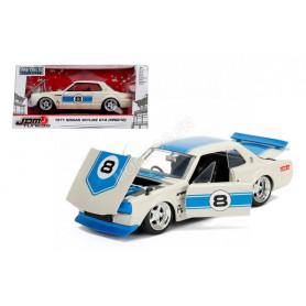 NISSAN SKYLINE 2000 GT-R 1971 8 (KPGC10) BEIGE/BLEUE