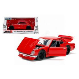 NISSAN SKYLINE 2000 GT-R 1971 (KPGC10) ROUGE