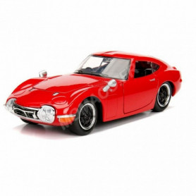 TOYOTA 2000 GT 1967 ROUGE