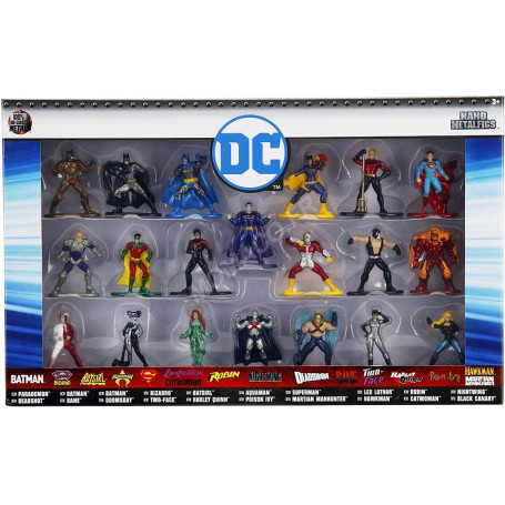 """20 FIGURINES """"DC COMICS"""" - COFFRET N°2"""