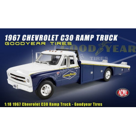 "CHEVROLET C-30 CAMION PLATEAU 1967 ""GOODYEAR TIRES"""