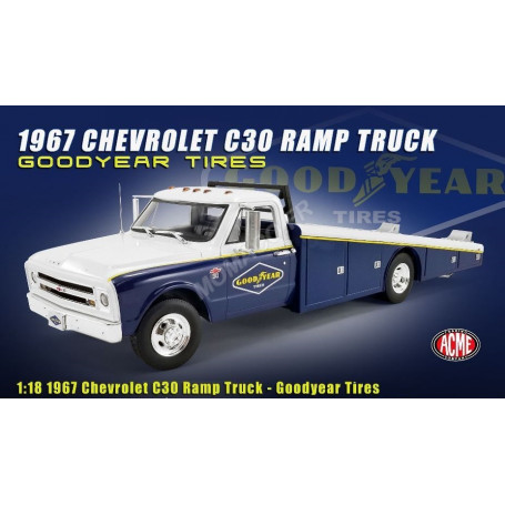 """CHEVROLET C-30 CAMION PLATEAU 1967 """"GOODYEAR TIRES"""""""
