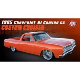 """CHEVROLET EL CAMINO 1965 """"CUSTOM CRUISER"""" ORANGE"""