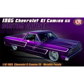 """CHEVROLET EL CAMINO SS 1965 """"CUSTOM CRUISER"""" VIOLET"""