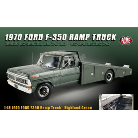"FORD F-350 CAMION PLATEAU 1970 ""HIGHLAND GREEN"""