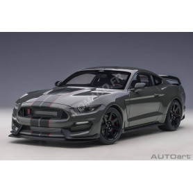 FORD MUSTANG SHELBY GT350R 2017 GRISE/NOIR