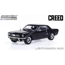 """FORD MUSTANG COUPE 1967 """"CREED (2015) - ADONIS CREED"""" NOIR MATT"""