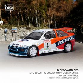 FORD ESCORT RS 4 SAINZ/MOYA RALLYE SAN REMO 1996