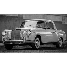 MERCEDES-BENZ 220SE COUPE (W128) 1958 BLANC/ROSE CLAIR