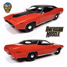 PLYMOUTH GTX 1971 ROUGE