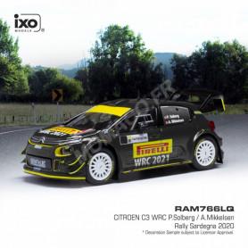CITROEN C3 WRC 21 SOLBERG/MIKKELSEN RALLYE SARDAIGNE 2020