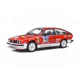 ALFA ROMEO GTV6 23 Y.LOUBET/J-B.VIEU TOUR DE CORSE 1985
