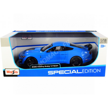 FORD MUSTANG SHELBY GT500 BLEUE/NOIRE
