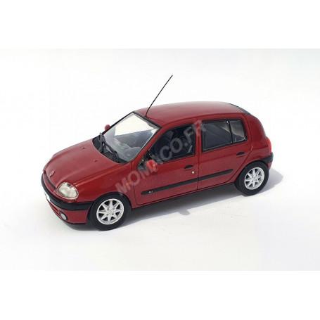 RENAULT CLIO II PHASE 1 ROUGE METALLISE
