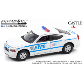 """DODGE CHARGER LX 2006 """" CASTLE (2009-2016) - NEW YORK POLICE DEPARTMENT"""""""