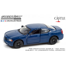 """DODGE CHARGER LX 2006 """" CASTLE (2009-2016) - DETECTRICE KATE BECKETT"""" BLEUE"""