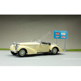 HORCH 855 ROADSTER 1939 JAUNE CLAIR
