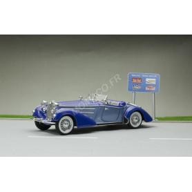 HORCH 855 ROADSTER 1939 BLEU FONCE