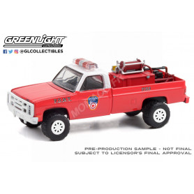 """CHEVROLET M1008 4X4 1986 """"THE OFFICIAL FIRE DEPARTMENT CITY OF NEW YORK"""" (FDNY)"""
