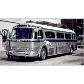 """GREYHOUND BUS """"GM 4104"""""""