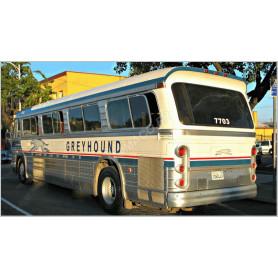 """GREYHOUND BUS """"GM 4106"""""""