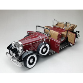 FORD LINCOLN KB TOP FERME 1932 MARRON