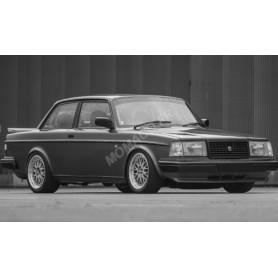 VOLVO 240 TURBO CUSTOMISEE 1986 GRIS