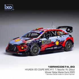 HYUNDAI I20 COUPE WRC 11 NEUVILLE/GILSOUL RALLYE MONTE CARLO 2020