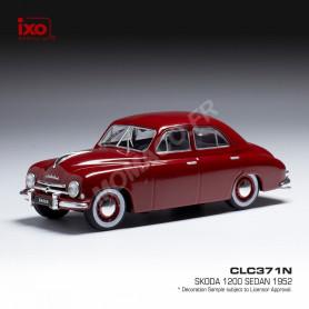 SKODA 1200 1952 ROUGE