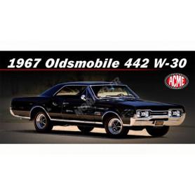 OLDSMOBILE 442 1967 NOIRE