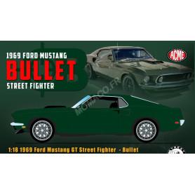 """FORD MUSTANG GT """"STREET FIGHTER"""" BULLET 1969 VERT"""
