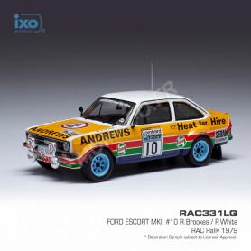 FORD ESCORT MKII 10 BROOKES/WHITE RALLYE RAC 1979