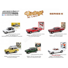 COFFRET 6 VINTAGE AD CARS - SERIES 6